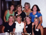 Karen, Julie, Kim, Julie, Shelly, Mary Ellen, Kim and Jana