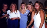 Kim, ?, Marie, Cheryl, Jane at 20th reunion